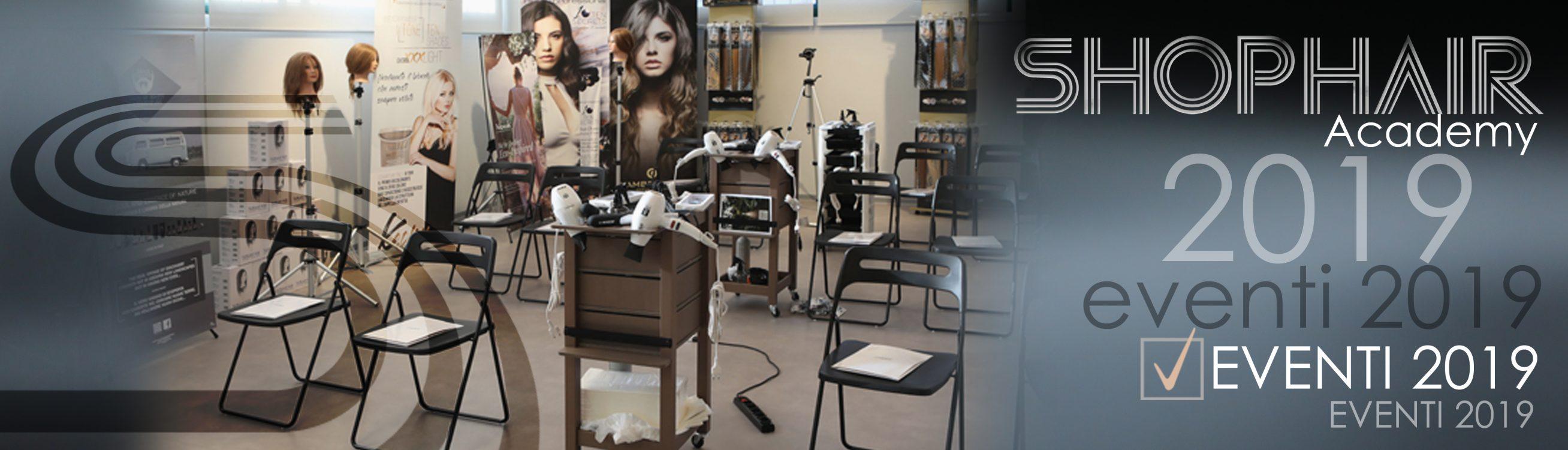 eventi shop hair 2019
